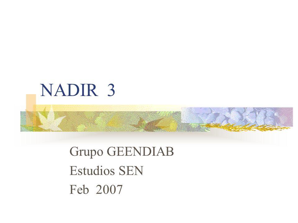 Grupo GEENDIAB Estudios SEN Feb 2007