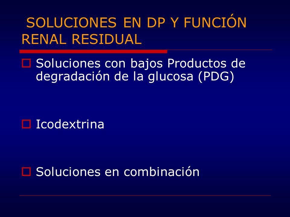 SOLUCIONES EN DP Y FUNCIÓN RENAL RESIDUAL