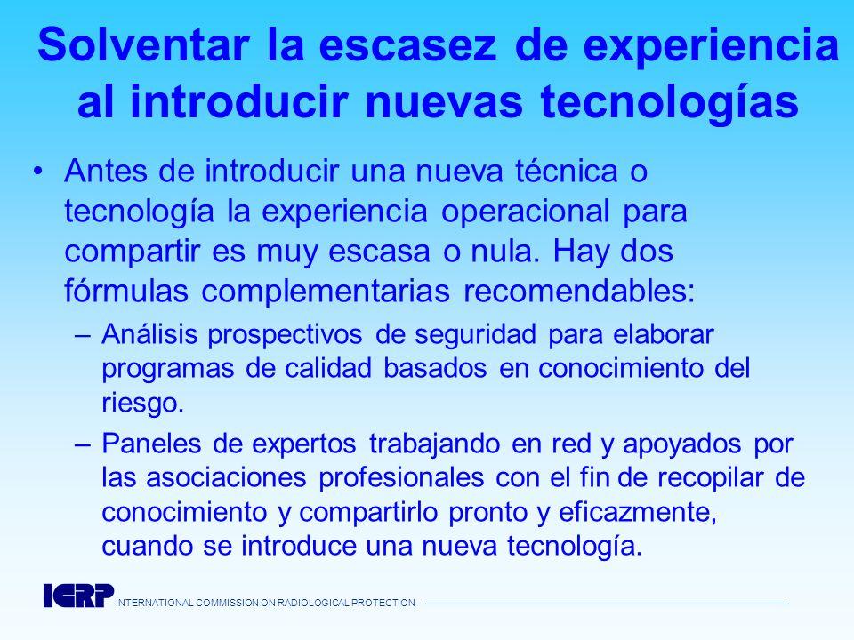 Solventar la escasez de experiencia al introducir nuevas tecnologías