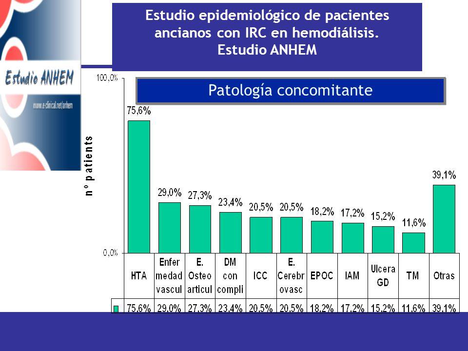 Patología concomitante