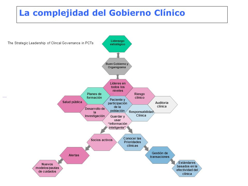 La complejidad del Gobierno Clínico
