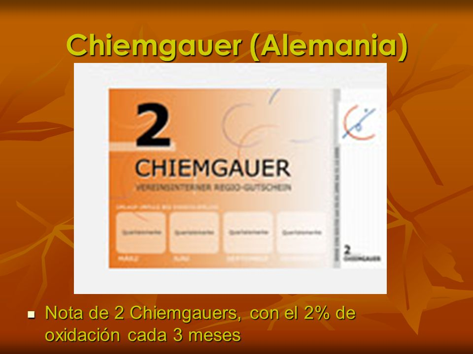 Chiemgauer (Alemania)