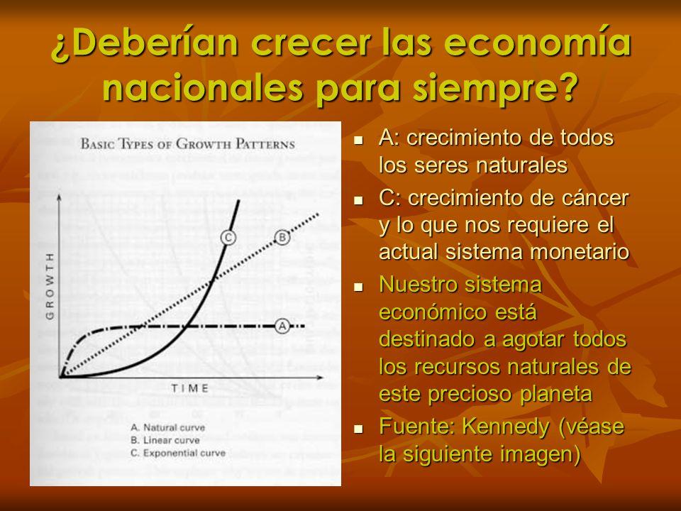 ¿Deberían crecer las economía nacionales para siempre