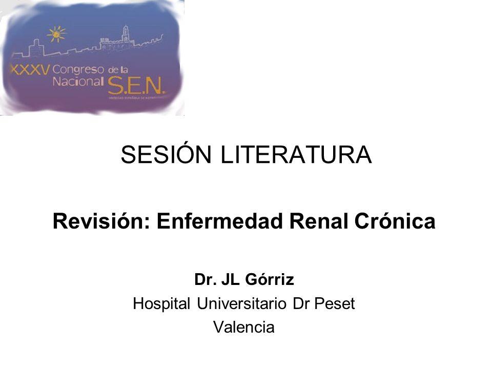 Revisión: Enfermedad Renal Crónica