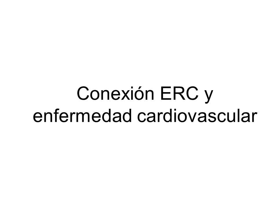 Conexión ERC y enfermedad cardiovascular