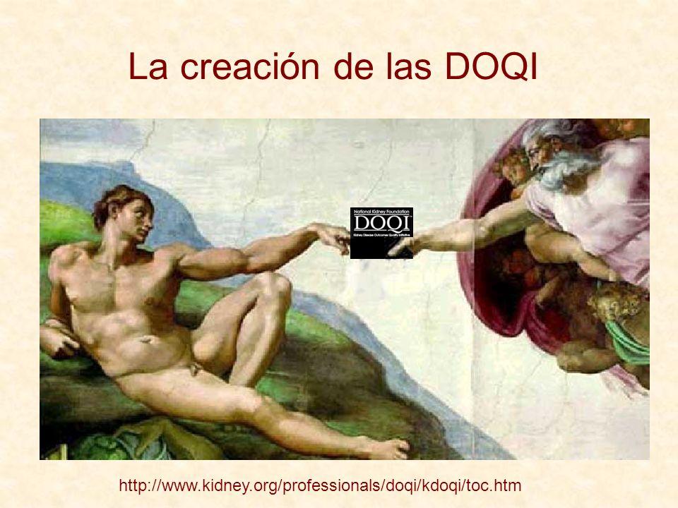 La creación de las DOQI