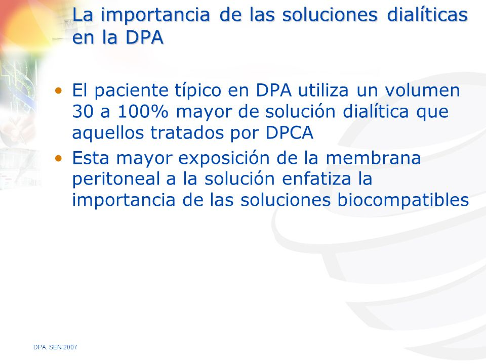La importancia de las soluciones dialíticas en la DPA