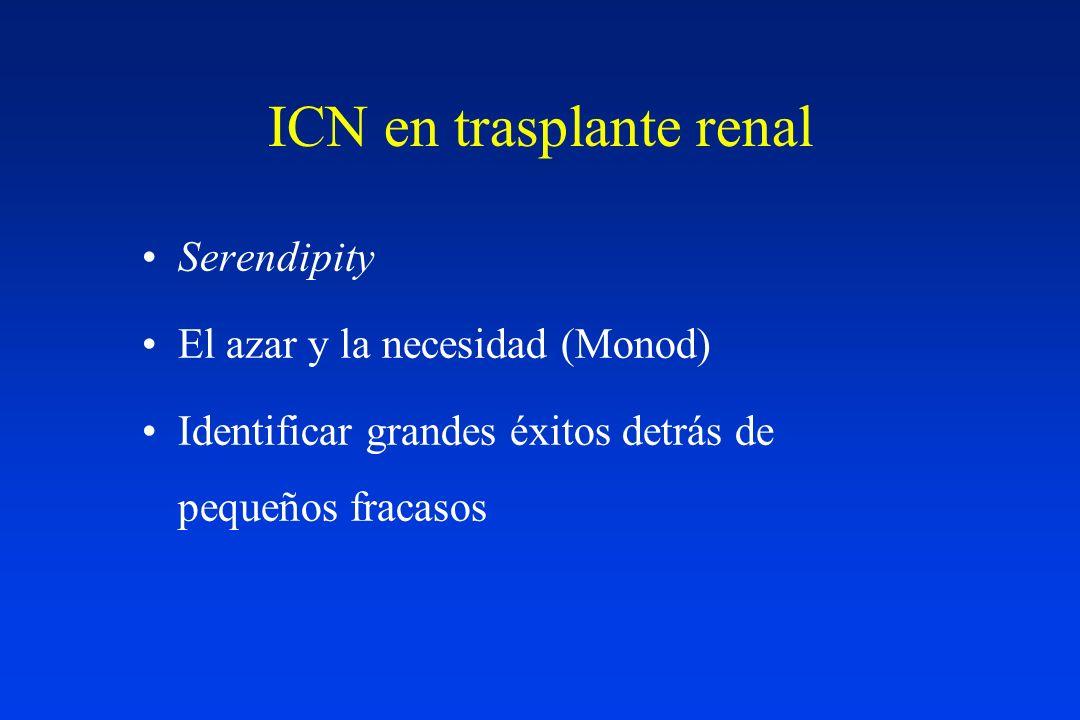 ICN en trasplante renal