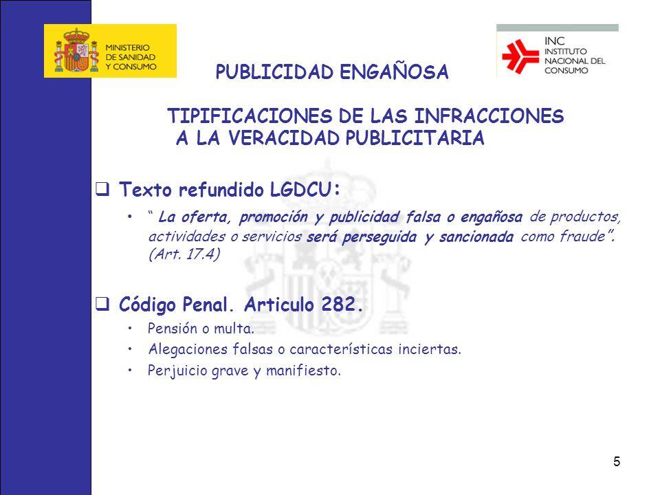 Texto refundido LGDCU: