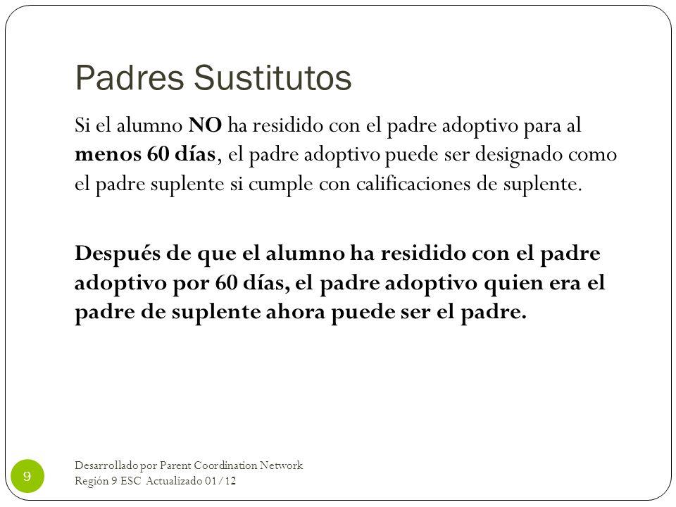 Padres Sustitutos
