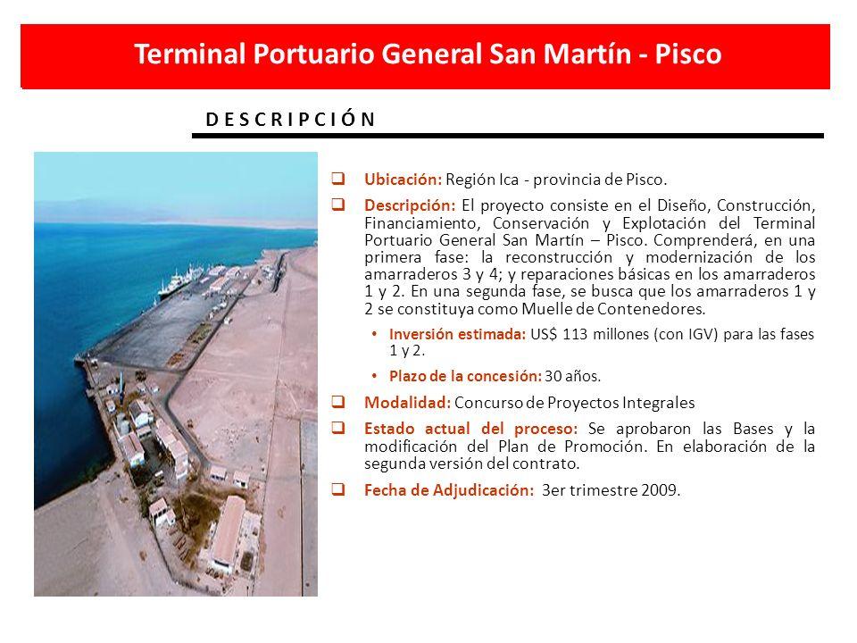 Terminal Portuario General San Martín - Pisco