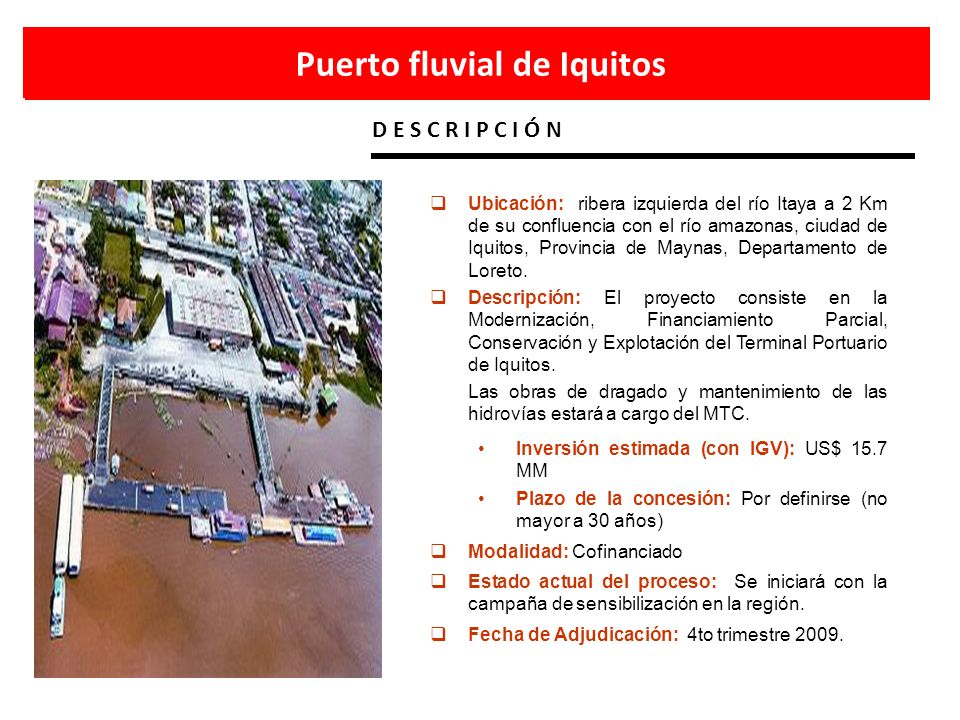 Puerto fluvial de Iquitos