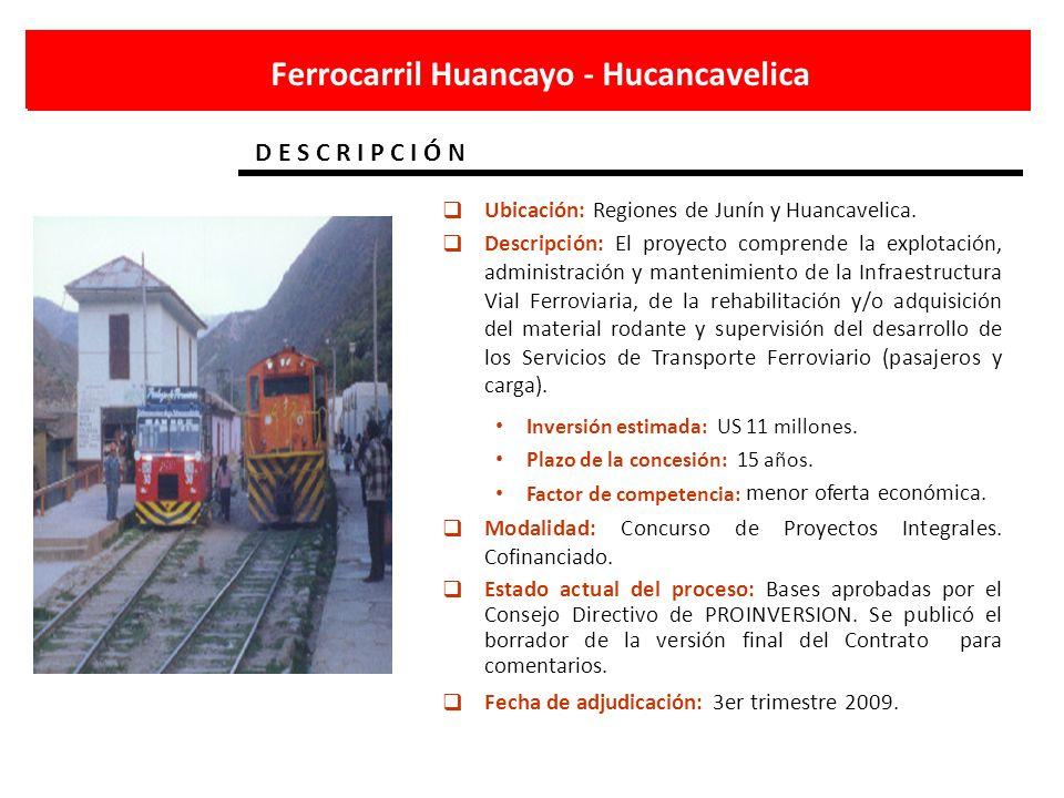 Ferrocarril Huancayo - Hucancavelica