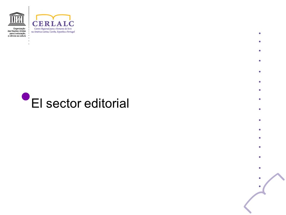 El sector editorial
