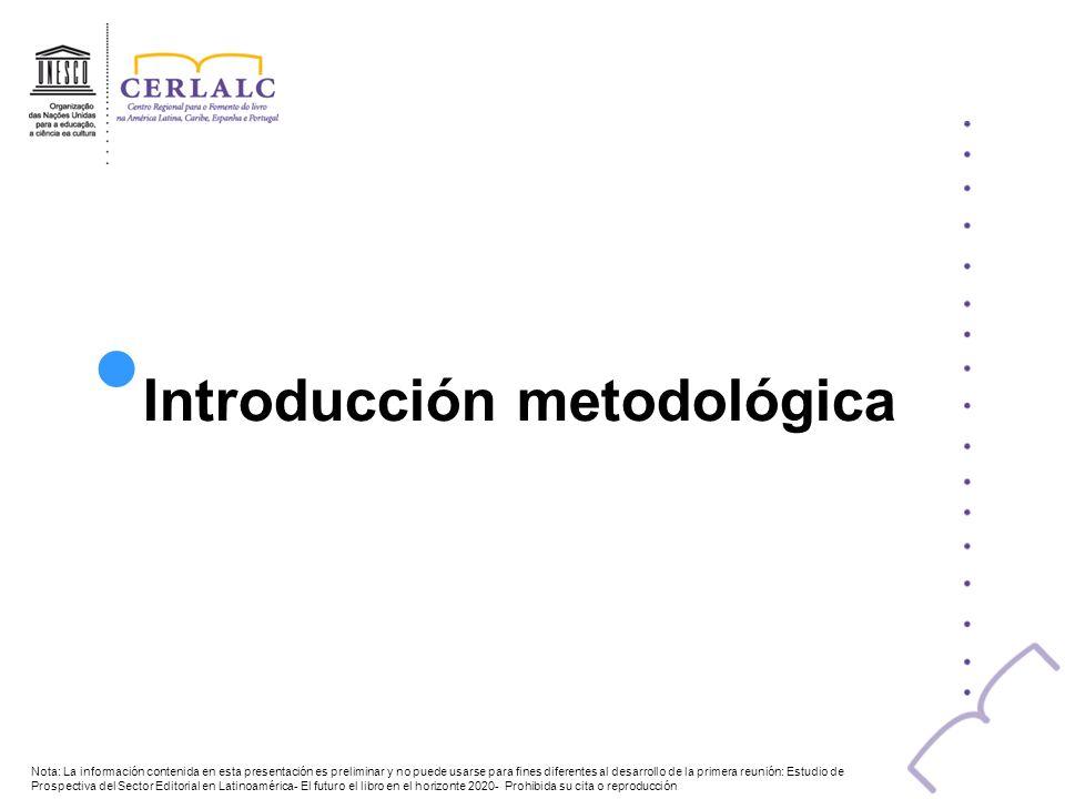 Introducción metodológica