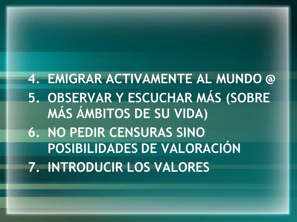 EMIGRAR ACTIVAMENTE AL MUNDO @