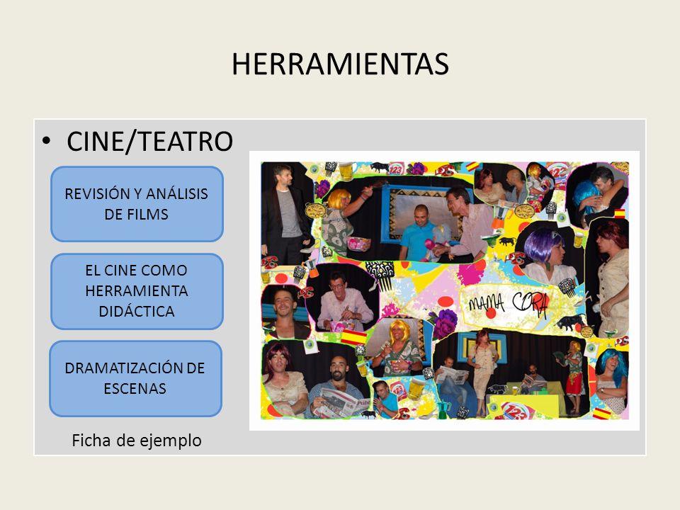 HERRAMIENTAS CINE/TEATRO Ficha de ejemplo REVISIÓN Y ANÁLISIS DE FILMS