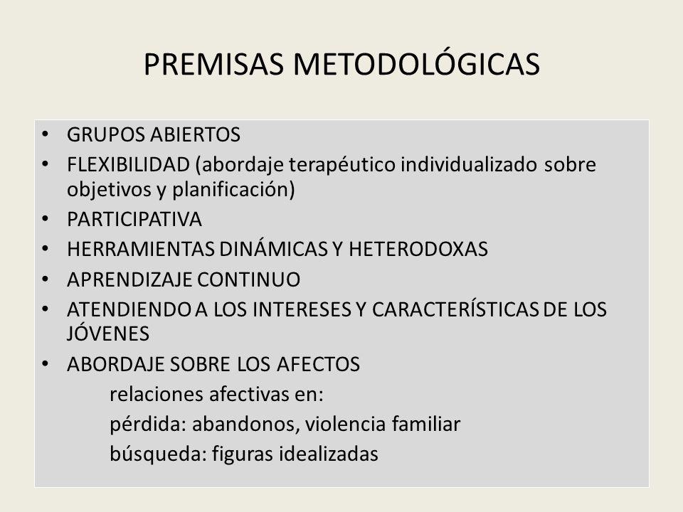 PREMISAS METODOLÓGICAS