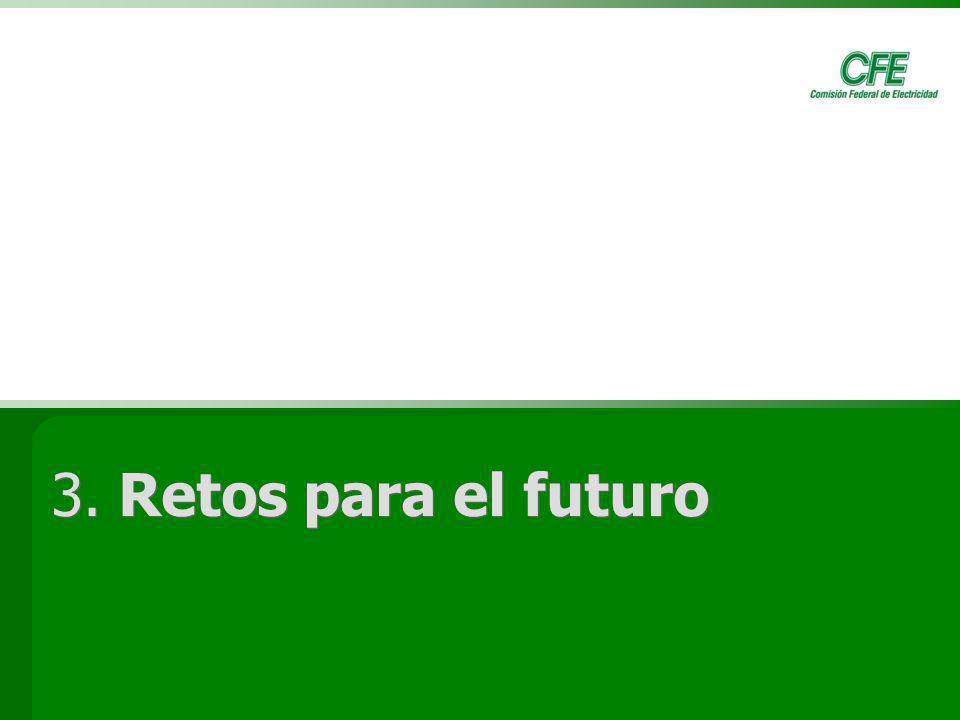 3. Retos para el futuro