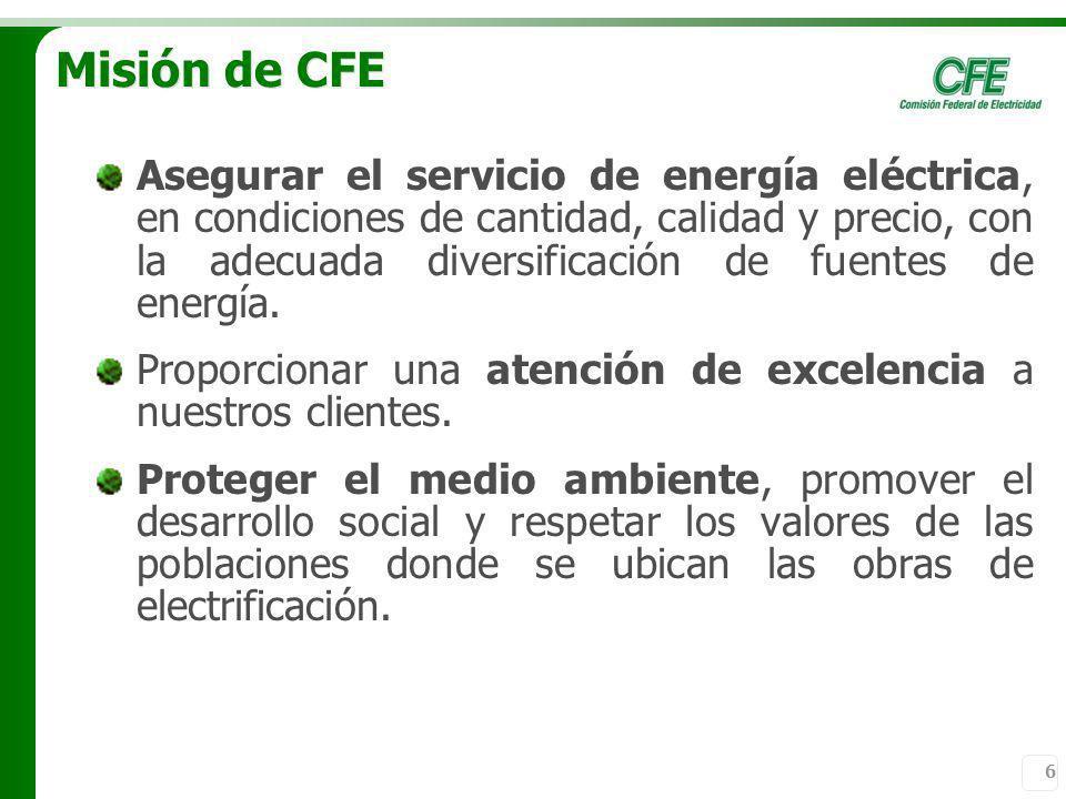 Misión de CFE