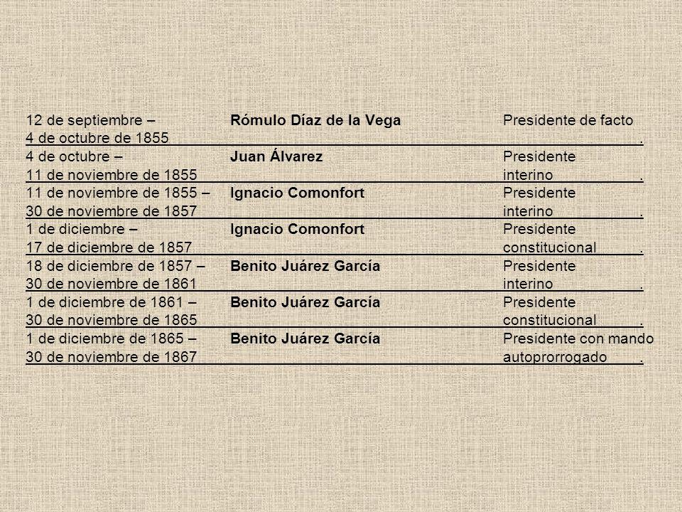 12 de septiembre –. Rómulo Díaz de la Vega