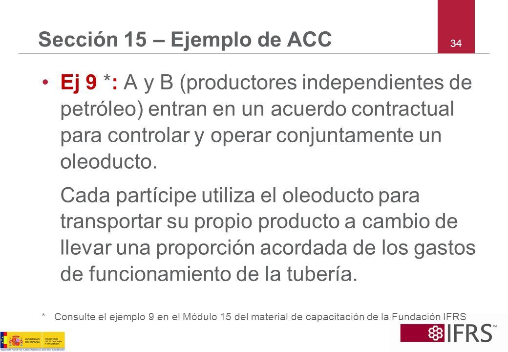 Sección 15 – Ejemplo de ACC