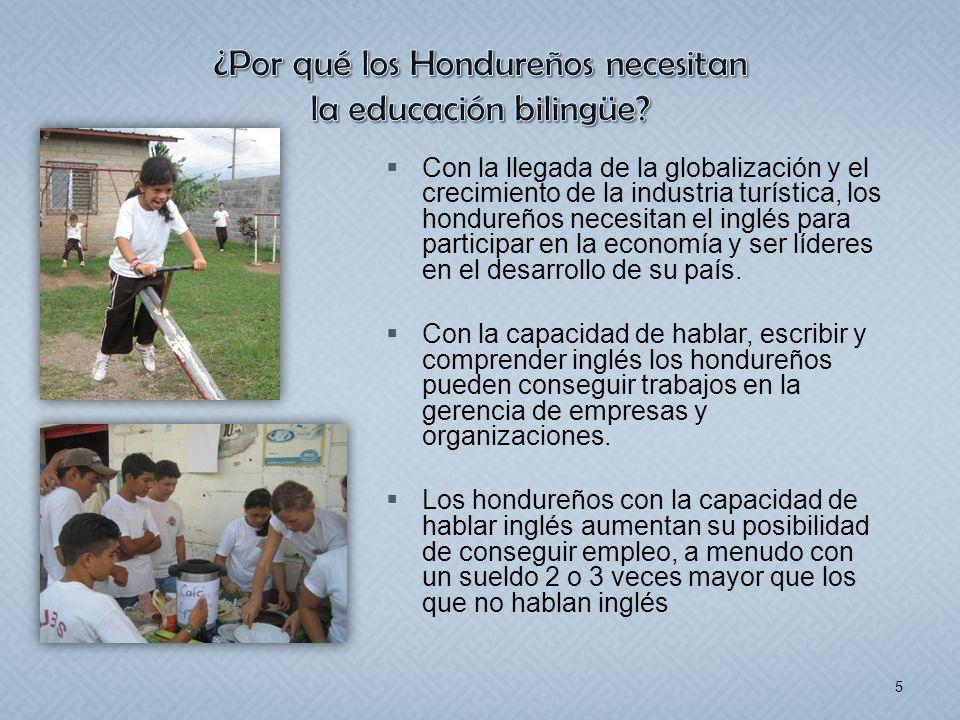 ¿Por qué los Hondureños necesitan la educación bilingüe