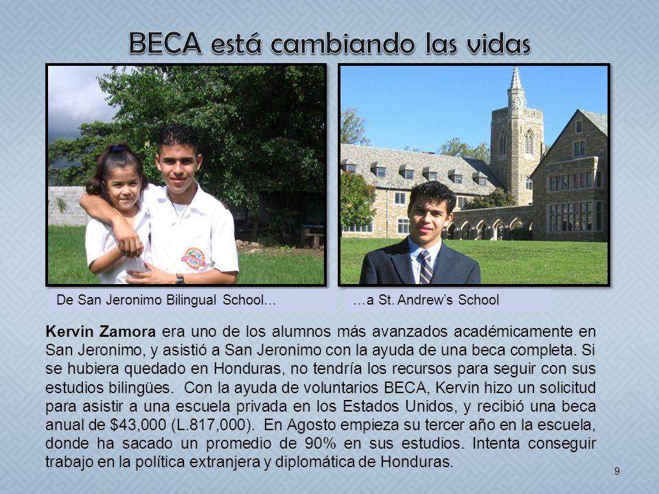 BECA está cambiando las vidas