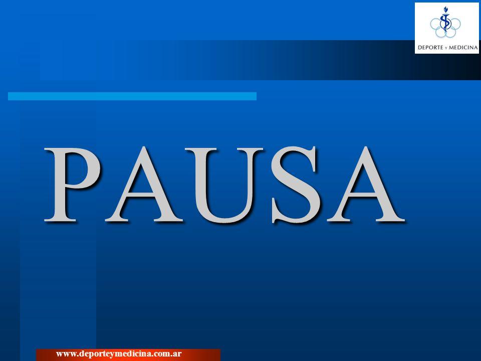 PAUSA www.deporteymedicina.com.ar