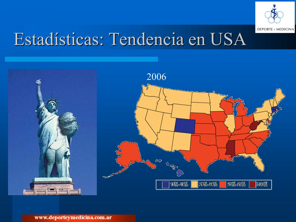 Estadísticas: Tendencia en USA