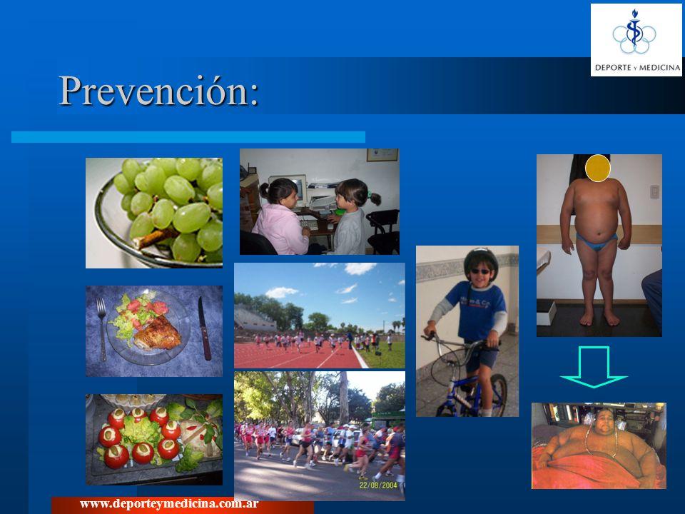 Prevención: www.deporteymedicina.com.ar