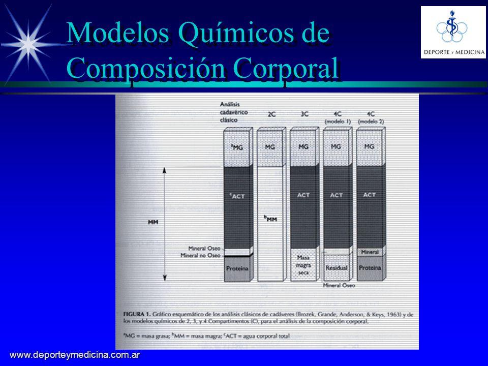 Modelos Químicos de Composición Corporal