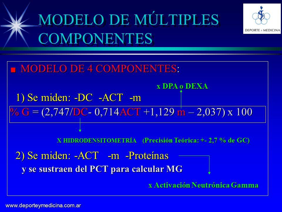 MODELO DE MÚLTIPLES COMPONENTES