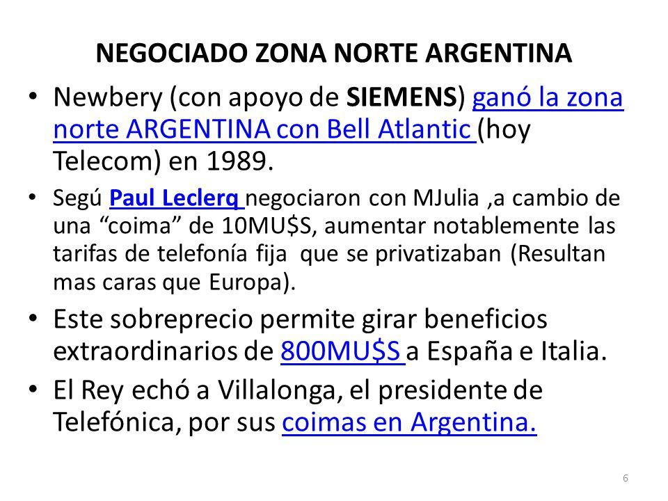 NEGOCIADO ZONA NORTE ARGENTINA