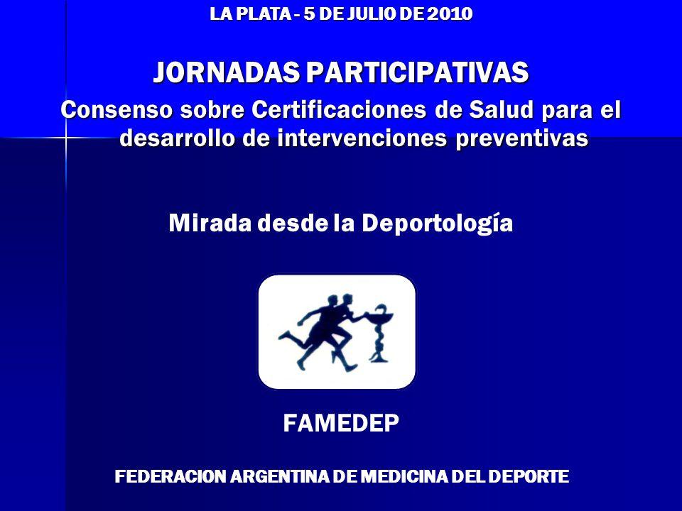 JORNADAS PARTICIPATIVAS