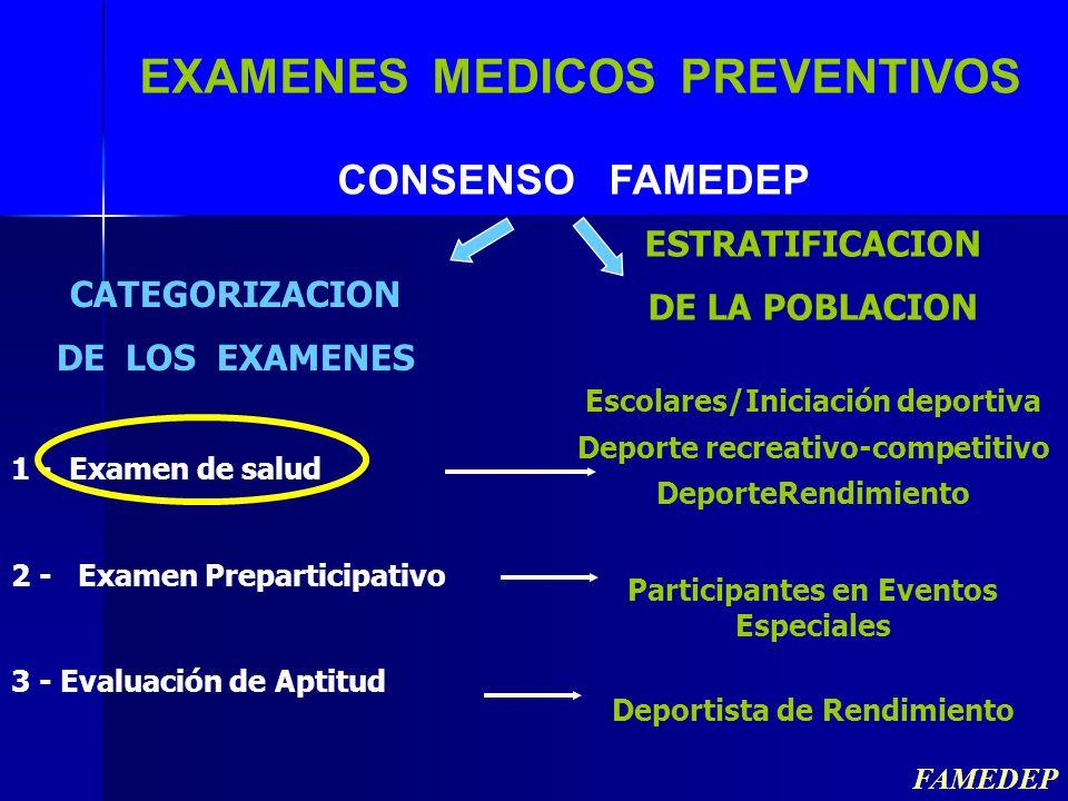 EXAMENES MEDICOS PREVENTIVOS
