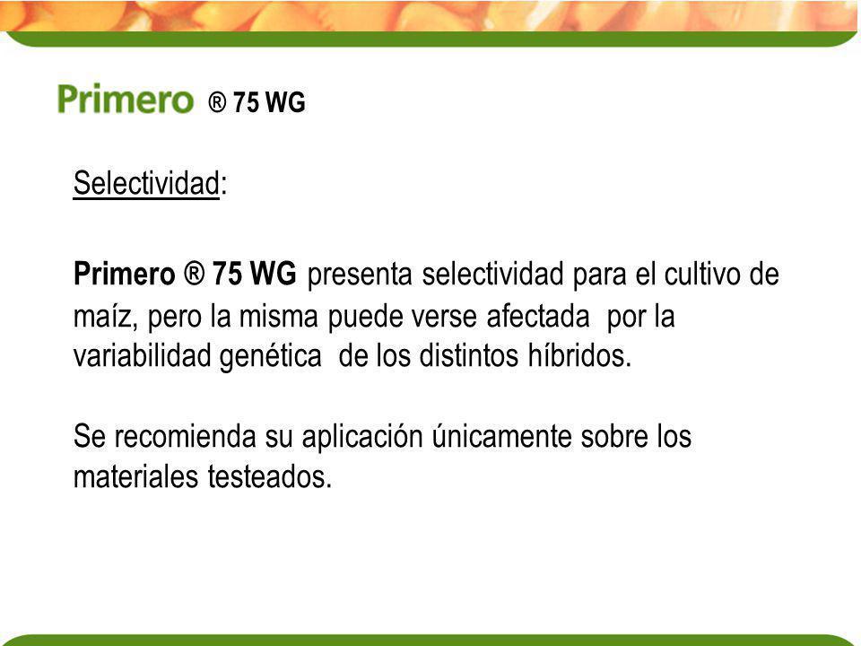 Se recomienda su aplicación únicamente sobre los materiales testeados.