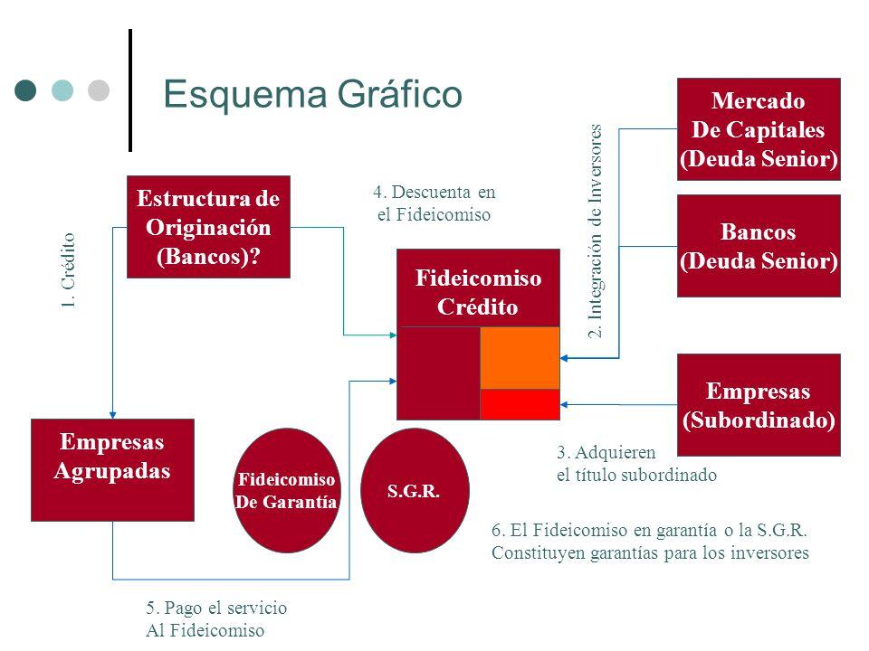 Esquema Gráfico Mercado De Capitales (Deuda Senior) Estructura de