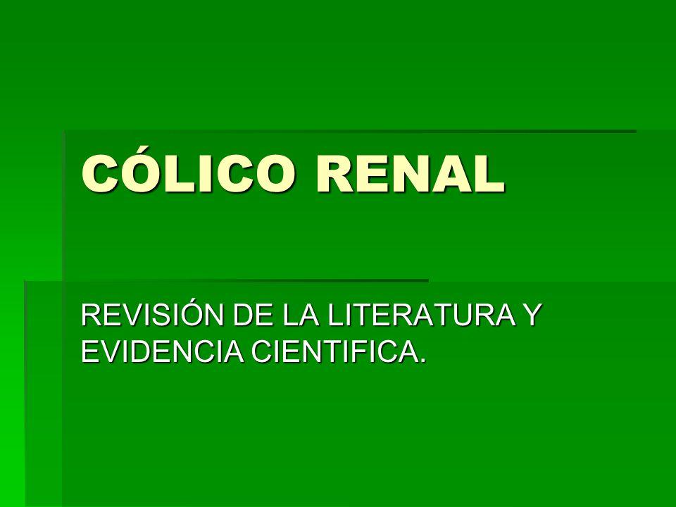 REVISIÓN DE LA LITERATURA Y EVIDENCIA CIENTIFICA.