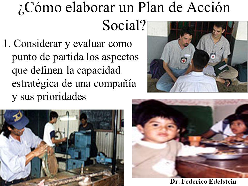 ¿Cómo elaborar un Plan de Acción Social
