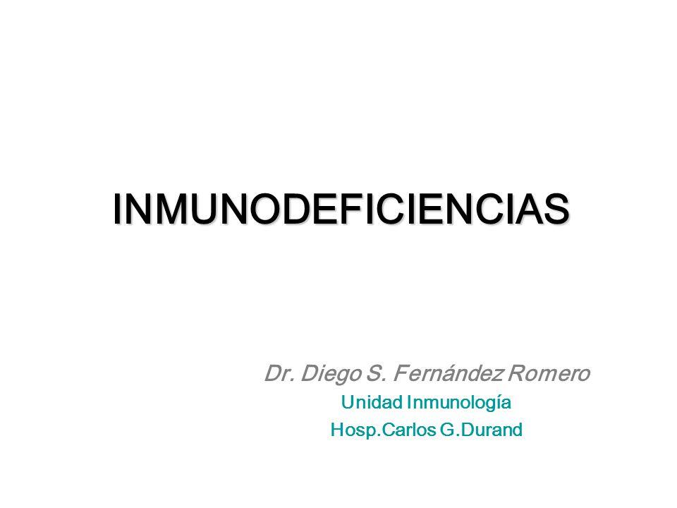 Dr. Diego S. Fernández Romero Unidad Inmunología Hosp.Carlos G.Durand