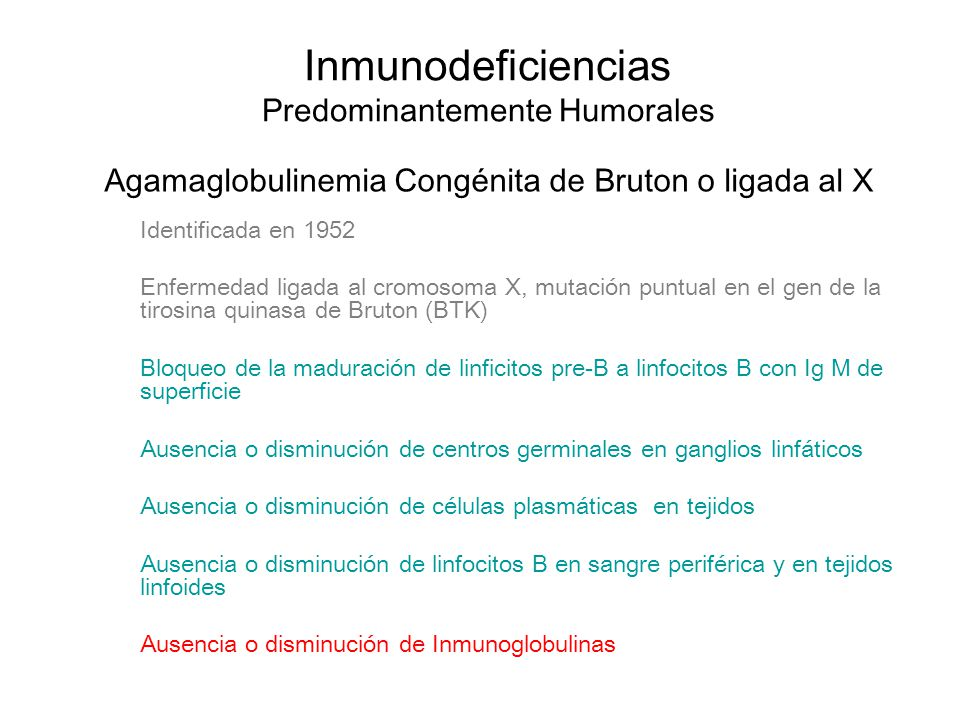 Inmunodeficiencias Predominantemente Humorales