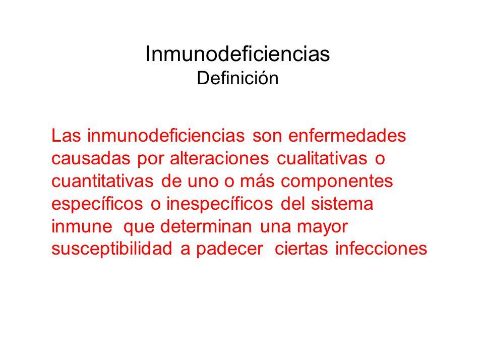 Inmunodeficiencias Definición