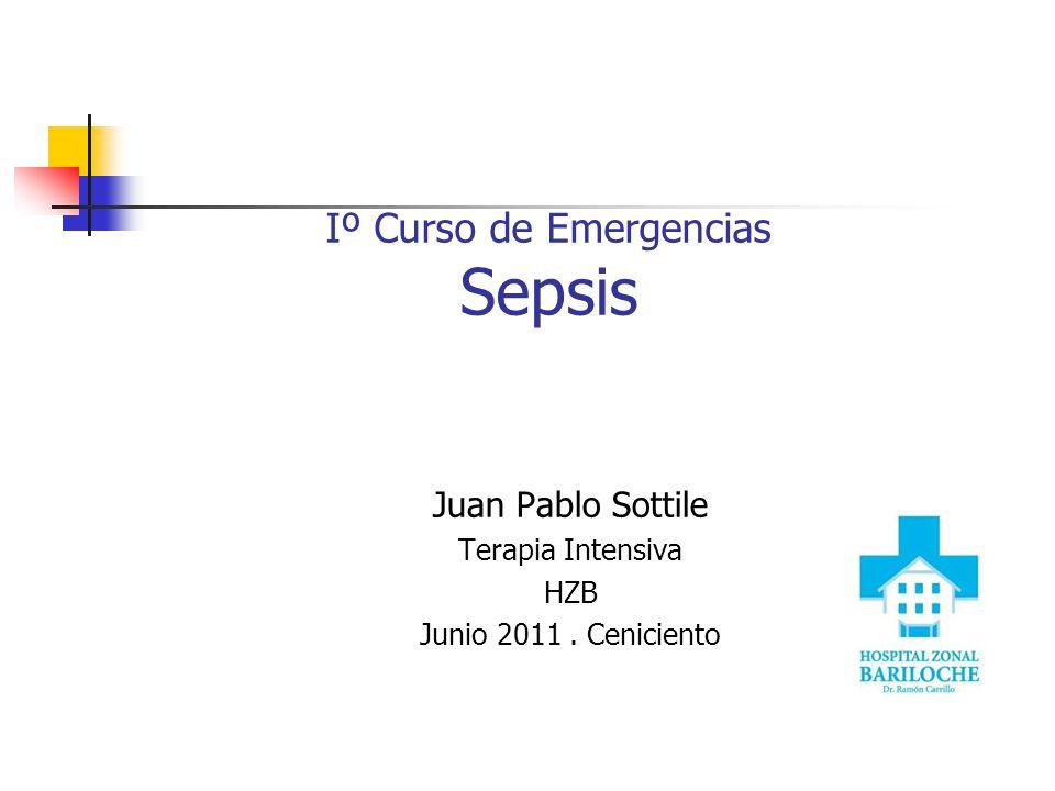 Iº Curso de Emergencias Sepsis