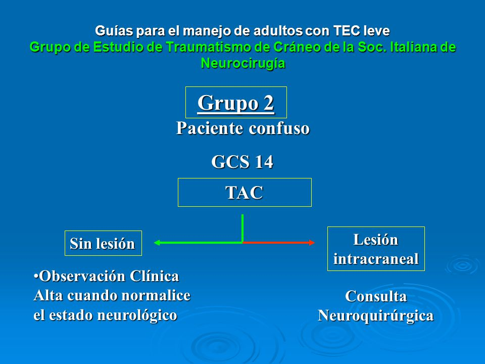Consulta Neuroquirúrgica