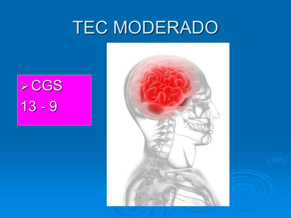 TEC MODERADO CGS 13 - 9
