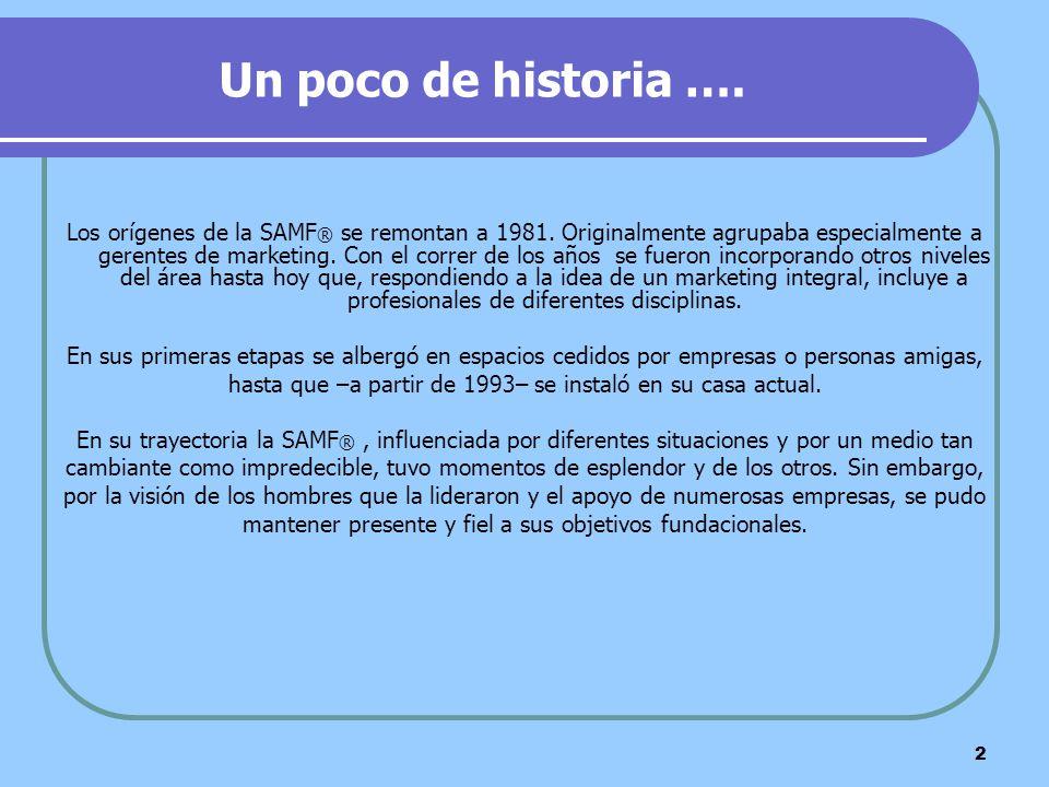 Un poco de historia ….