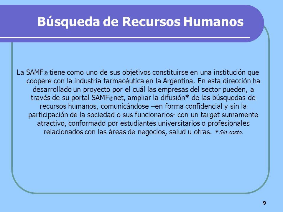 Búsqueda de Recursos Humanos
