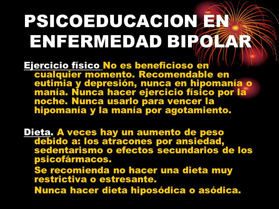 PSICOEDUCACION EN ENFERMEDAD BIPOLAR