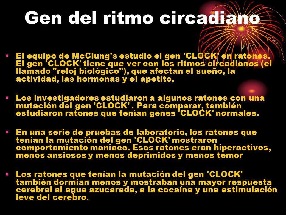 Gen del ritmo circadiano